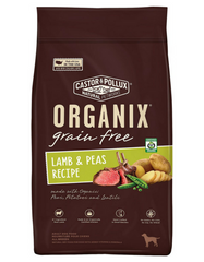 ORGANIX Grain-Free Lamb & Peas Recipe Dry Dog Food (2 Sizes)