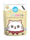 Jollycat Crushed Tofu Original Cat Litter 6L