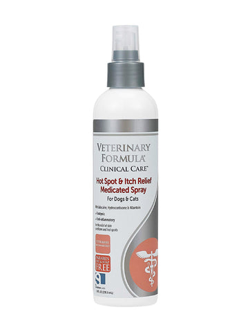 Veterinary Formula Clinical Care Itch Relief Medicated Spray | Perromart Online Pet Store Singapore