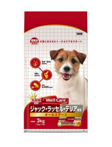Well Care Jack Russell Terrier Chicken Dog Dry Food 3kg | Perromart Online Pet Store Singapore