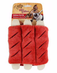 Afp BBQ Delicious Pork Rib For Dog Red | Perromart Online Pet Store Singapore