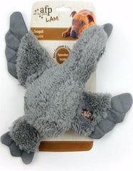 Afp Lambswool Cuddle Bird For Dog Grey | Perromart Online Pet Store Singapore