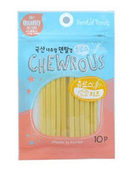 Chewrous Dental Chew Cheese 10pcs | Perromart Online Pet Store Singapore