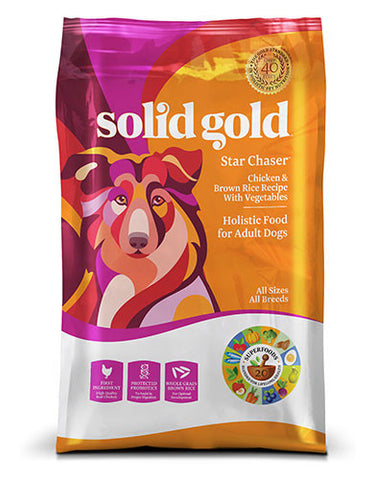 Solid Gold Star Chaser Chicken & Brown Rice Recipe with Vegetables Dry Dog Food | Perromart Online Pet Store Singapore