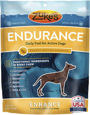 Zuke's Enhance Endurance Peanut Butter Formula Dog Treats | Perromart Online Pet Store Singapore
