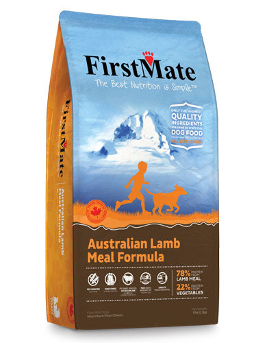 FirstMate Normal Bites Australian Lamb Dry Dog Food  | Perromart Online Pet Store Singapore