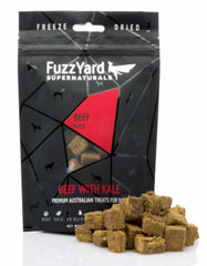 Fuzzyard Supernaturals Freeze Dried Beef Dog Treats | Perromart Singapore