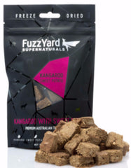 Fuzzyard Supernaturals Freeze Dried Kangaroo Dog Treats | Perromart Online Pet Store Singapore