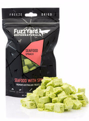 Fuzzyard Supernaturals Freeze Dried Seafood Dog Treats | Perromart Online Pet Store Singapore