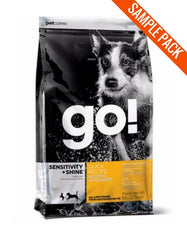 Petcurean Go! Duck Dry Dog Food Sample - Perromart