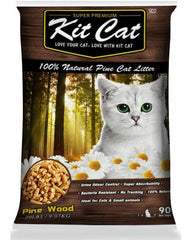 KitCat Natural Pine Litter 40lbs/18.14kg