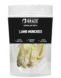 Graze NZ Natural Lamb Munchies Dog Chew (2 Sizes)