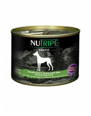 Nutripe Exotic Country Goat & Green Tripe w Berries Canned Dog Food 175g | Perromart Online Pet Store