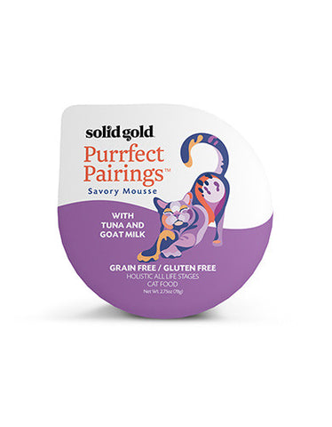 Gold Grain & Gluten Free Purrfect Pairings With Tuna & Goat Milk Cat Food 18 (cups)/case | Perromart Online Pet Store Singapore
