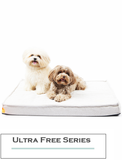 Paw Made Ultra Free Orthopedic Cushion (Egg Crate Form) Bed in Light Beige (2 Sizes) | Perromart Online Pet Store Singapore