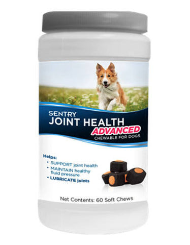 Sentry Joint Health Advanced Chewable for Dogs 60 count | Perromart Online Pet Store Singapore
