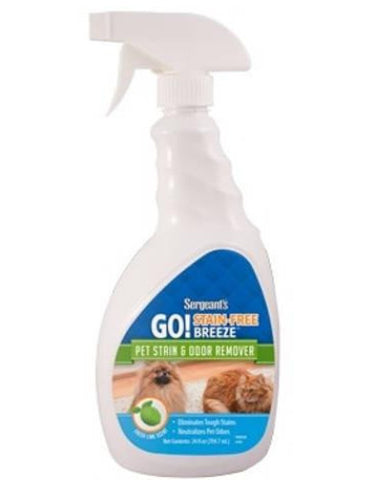 Sergeant's® Stain-Free Breeze Odor-Stain Remover 24oz | Perromart Online Pet Store Singapore