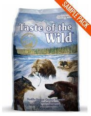 Taste of the Wild Pacific Stream with Smoked Salmon Canine Dry Dog Food Sample - Perromart