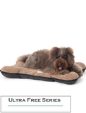 Paw Made Ultra Free Bite Resistant Cushion Bed Brown (3 Sizes)