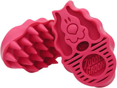 Kong ZoomGroom Raspberry Comb (Small & Regular) - Perromart