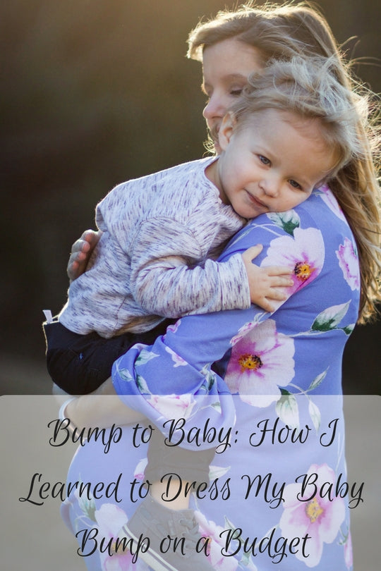 Bump to Baby: How I Learned to Dress My Baby Bump and After!