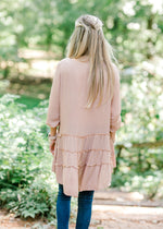 I'm Charmed Dusty Rose Top