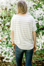 striped top with white background - epiphany boutiques