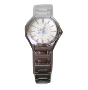 UAH Women's Silver Tone Fossil Watch