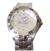 UAH Men's Silver Tone Fossil Watch