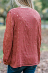 rust top with stars - epiphany boutiques