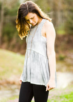 taylor-tank-green-fog-racerback-gray-zipper-comfy-comfortable-lace-cute-epiphany-boutiques-athens-madison-alabama-shop-local-
