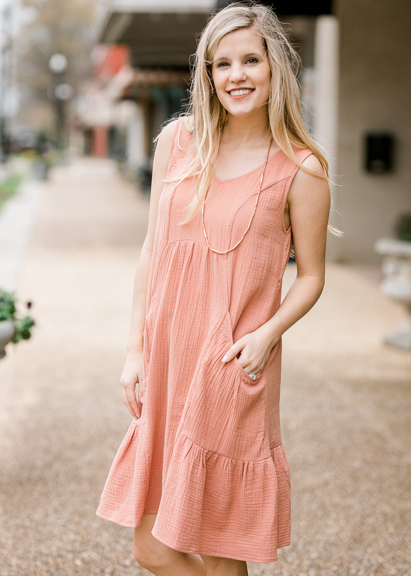 quaze sleeveless midi dress - epiphany boutiques