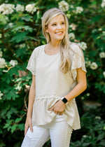 short sleeve top -  epiphany boutiques