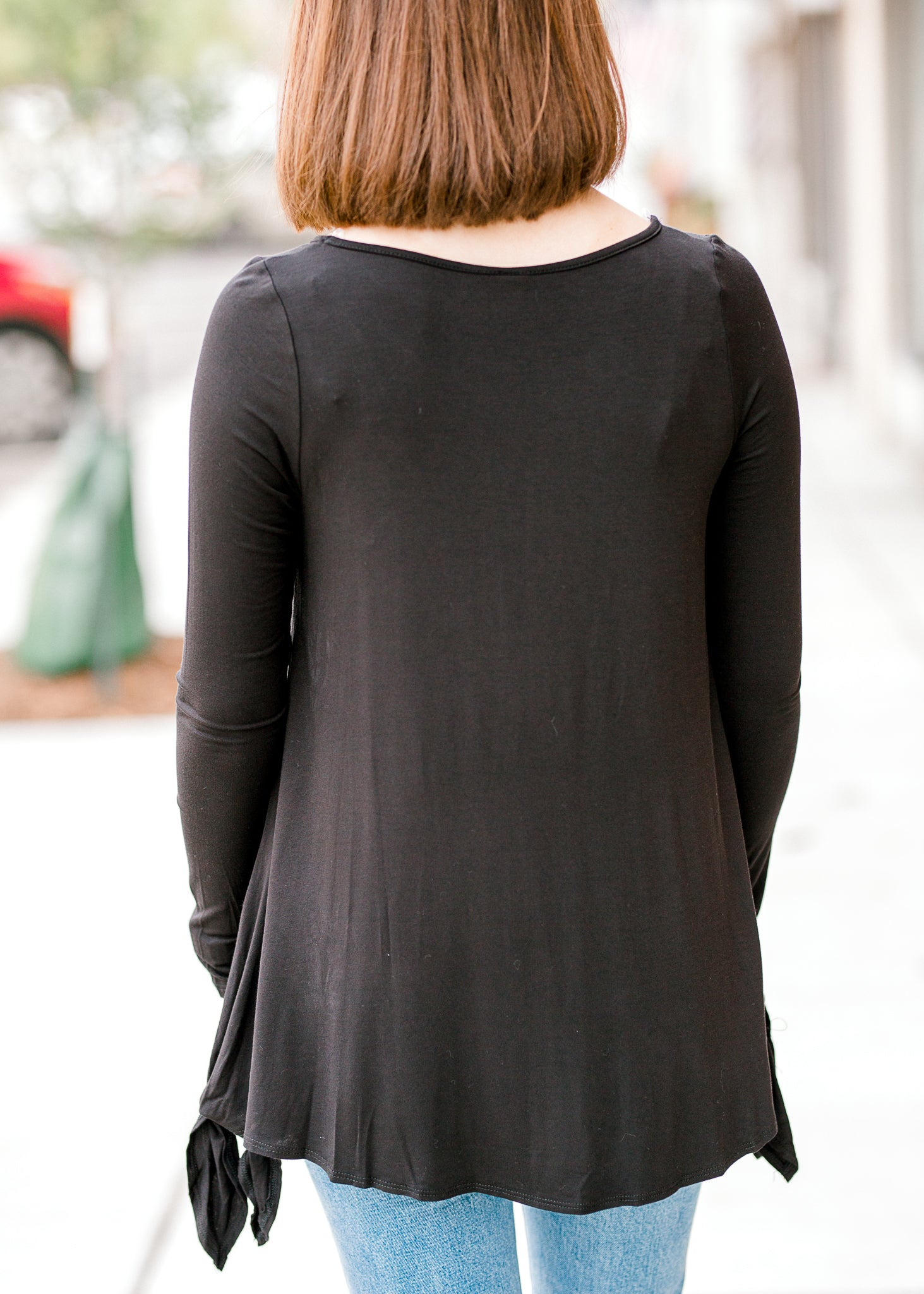 Best Black Bamboo Tunic