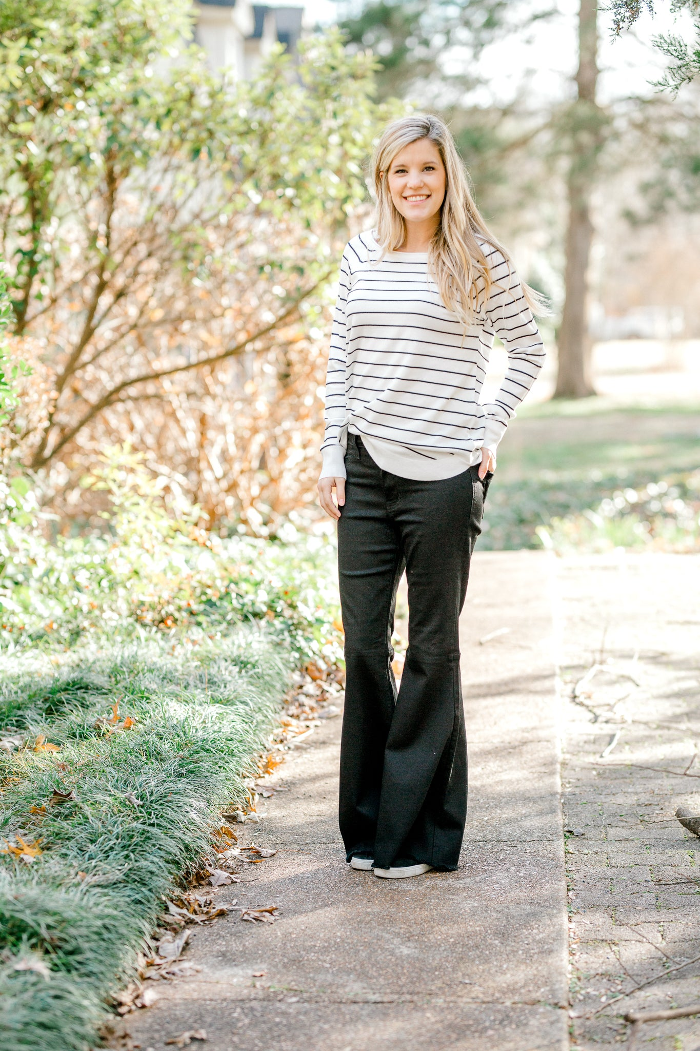 Classic Striped Pullover Sweater
