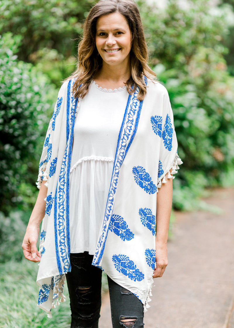 kimono with tassels - epiphany boutiques