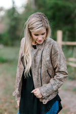 long sleeve jacket - epiphany boutiques