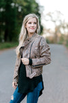 exposed zipper jacket - epiphany boutiques