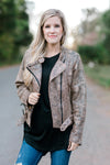 exposed zippers jacket - epiphany boutiques