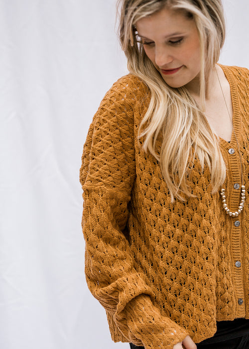 bronze sweater - epiphany boutiques