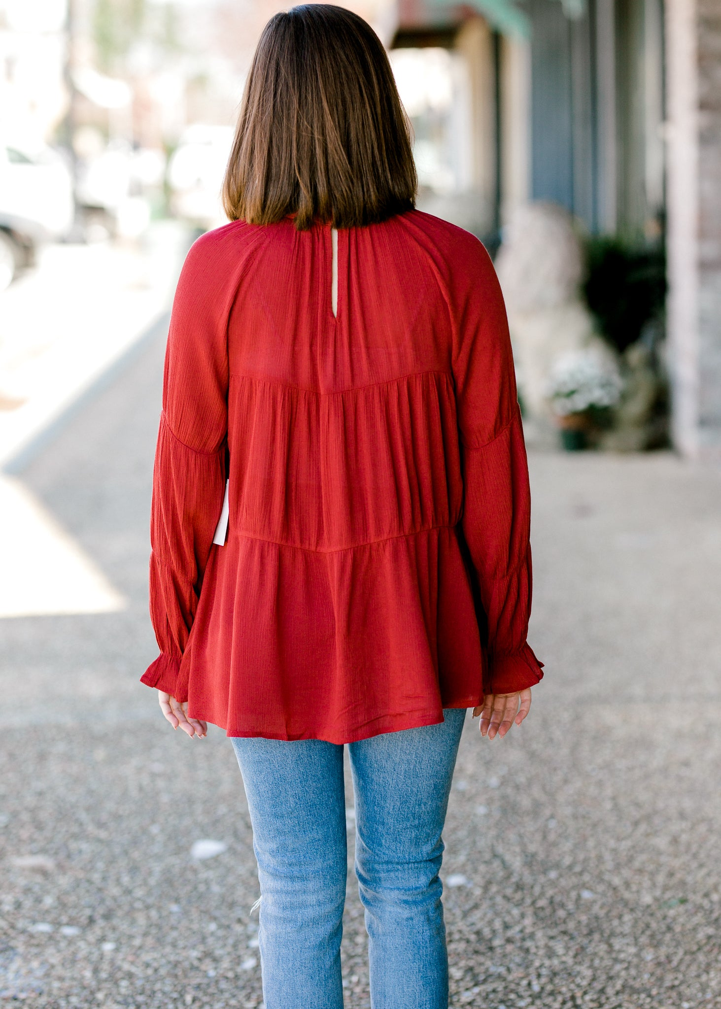 Cheery Ruby Top