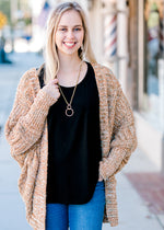 X Copper Confetti Cardigan