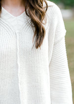 X Cozy Cream Cable Sweater