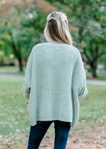 chenille knit sweater -  epiphany boutiques