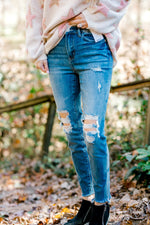 Everything Nice Distressed Skinny