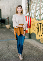 X Fall Fun Block Sweater