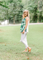 green fern top - epiphany boutiques