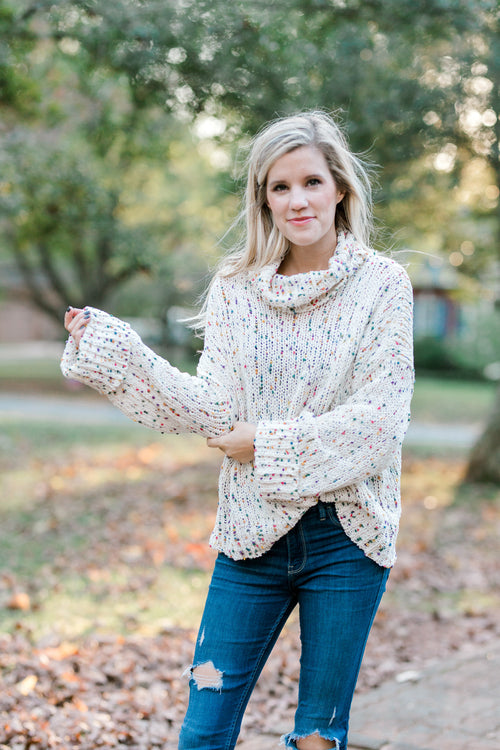 cowl neck sweater - epiphany boutiques