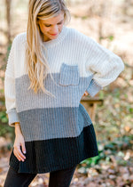 Gray Delight Sweater