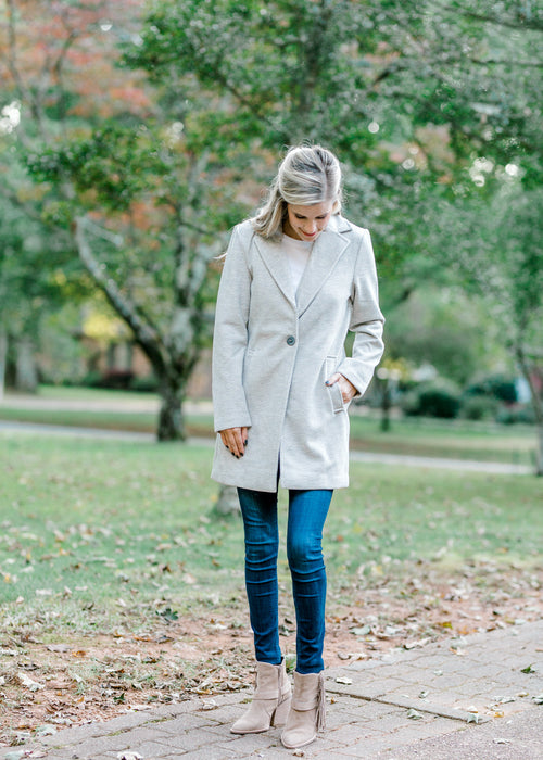 gray coat - epiphany boutiques